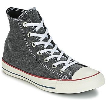 Schoenen Hoge sneakers Converse Chuck Taylor All Star Hi Stone Wash Grijs