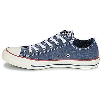 7b8ff879e9c hete verkoop Schoenen Lage sneakers Converse Chuck Taylor All Star Ox Stone  Wash Marine