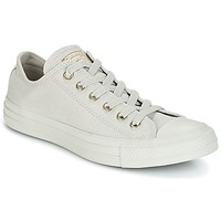 Schoenen Dames Lage sneakers Converse Chuck Taylor All Star Ox Mono Glam Canvas Color Grijs