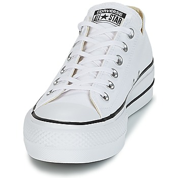 132eeaff9f0 Schoenen Dames Lage sneakers Converse Chuck Taylor All Star Lift Clean Ox  Core Canvas Wit 50