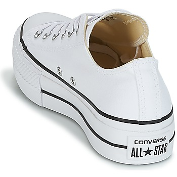 e51aabfdddc Schoenen Dames Lage sneakers Converse Chuck Taylor All Star Lift Clean Ox  Core Canvas Wit 50