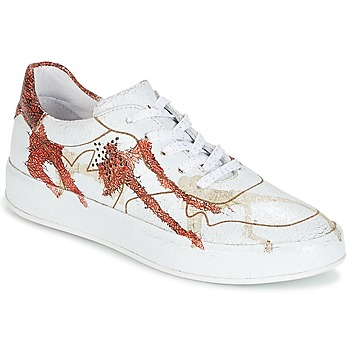 Schoenen Dames Lage sneakers Felmini CRASKY Wit / Rood