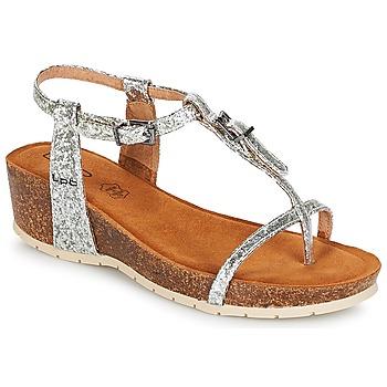 Schoenen Dames Sandalen / Open schoenen LPB Shoes KISS Zilver