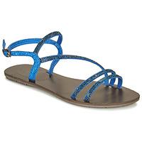 Schoenen Dames Sandalen / Open schoenen LPB Shoes NELLY Blauw