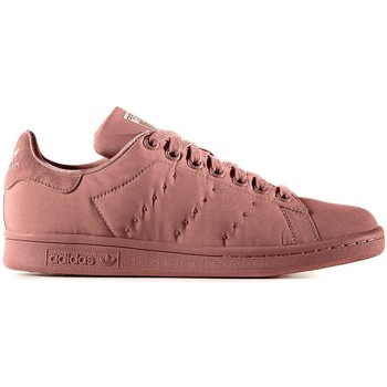 Schoenen Dames Lage sneakers adidas Originals STAN SMITH W ROSA NATURAL Rosa