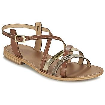 Schoenen Dames Sandalen / Open schoenen Les Tropéziennes par M Belarbi HAPAX Tan / Beige