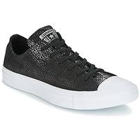 Schoenen Dames Lage sneakers Converse Chuck Taylor All Star Ox Tipped Metallic Zwart
