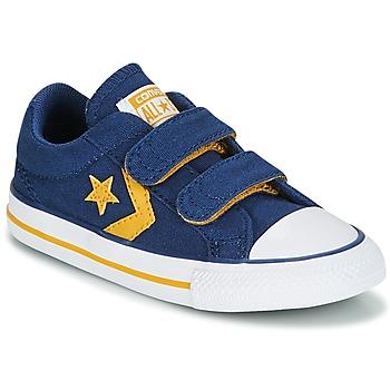 Schoenen Jongens Lage sneakers Converse Star Player EV 2V Ox Sport Canvas Blauw