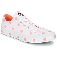 Schoenen Dames Lage sneakers Converse Chuck Taylor All Star-Ox Wit / Oranje