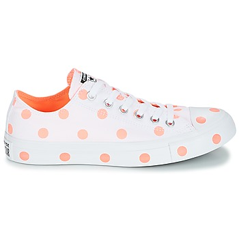 76620434548 70% OFF Schoenen Dames Lage sneakers Converse Chuck Taylor All Star-Ox Wit /