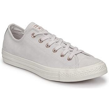 Schoenen Dames Lage sneakers Converse Chuck Taylor All Star-Ox Roze / Wit