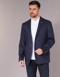 Textiel Heren Jasjes / Blazers Serge Blanco SUTTON Marine