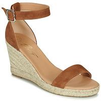 Schoenen Dames Sandalen / Open schoenen Betty London INDALI Bruin