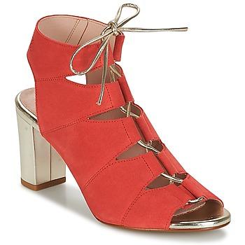 Schoenen Dames Sandalen / Open schoenen Betty London INALU Rood
