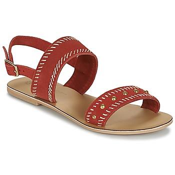 Schoenen Dames Sandalen / Open schoenen Betty London IKARI Rood