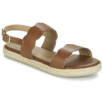 Schoenen Dames Sandalen / Open schoenen Betty London IKARO Bruin