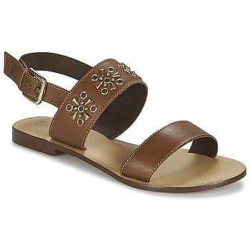 Schoenen Dames Sandalen / Open schoenen Betty London IKIMI Bruin