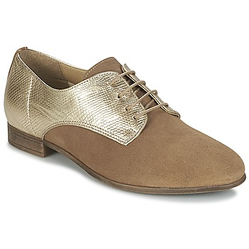 Schoenen Dames Derby Betty London IKATI Bruin