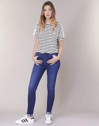 Textiel Dames Skinny Jeans Pepe jeans REGENT Blauw / Ce2 / Cristaux / Swarorsky