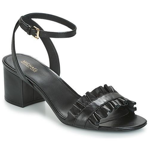 Schoenen Dames Sandalen / Open schoenen MICHAEL Michael Kors BELLA FLEX MID Zwart