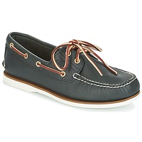 Schoenen Heren Bootschoenen Timberland CLASSIC 2 EYE Marine / Smooth