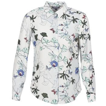 Textiel Dames Overhemden Tommy Hilfiger MIRAN-SHIRT-LS Wit