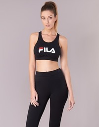 Textiel Dames Sport BH's Fila OTHER CROP TOP Zwart