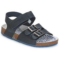 Schoenen Jongens Sandalen / Open schoenen Kickers MAGINATION Marine