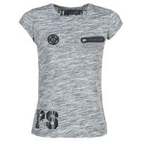 Textiel Dames T-shirts korte mouwen Philipp Plein Sport SITTIN OVER HERE Grijs