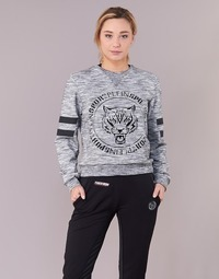 Textiel Dames Sweaters / Sweatshirts Philipp Plein Sport LET YOUR MIND FREE Grijs