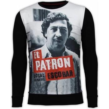 Textiel Heren Sweaters / Sweatshirts Local Fanatic El Patron Escobar - Digital Rhinestone Sweater 38