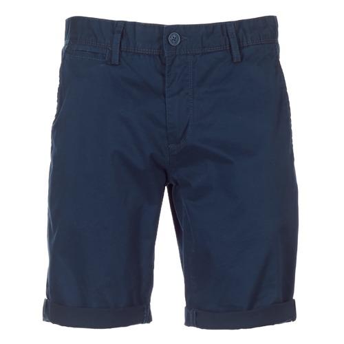 Textiel Heren Korte broeken / Bermuda's Teddy Smith SHORT CHINO Marine