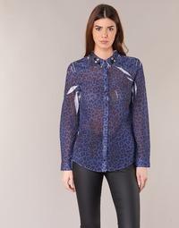 Textiel Dames Overhemden Guess BORICE Blauw