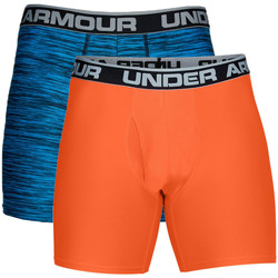 Textiel Heren Boxershorts Under Armour UA Original Series Printed BoxerJock (Lot x2) Blauw