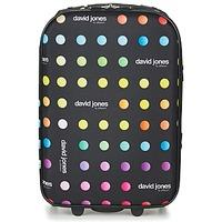 Tassen Soepele Koffers David Jones PICOLO 35L Zwart / Multi