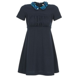 Textiel Dames Korte jurken Manoush COMMUNION Blauw