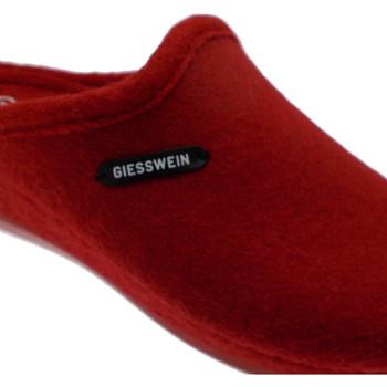 Schoenen Dames Leren slippers Giesswein GIESJENAro rosso