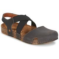 Schoenen Dames Sandalen / Open schoenen Art WE WALK Grijs / Zwart