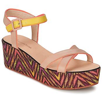 Schoenen Dames Sandalen / Open schoenen Paul & Joe Sister JENI Beige / Multi