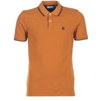 Textiel Heren Polo's korte mouwen Selected SEASON Bruin