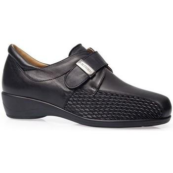 Schoenen Dames Derby Calzamedi S  STRETCH  W NEGRO
