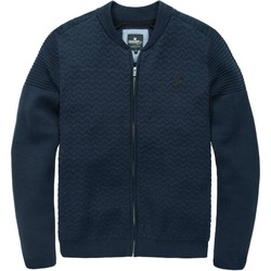 Textiel Heren Wind jackets Vanguard Full zip jacket cotton blend sky captain Blauw