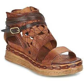 Schoenen Dames Sandalen / Open schoenen Airstep / A.S.98 LAGOS Bruin