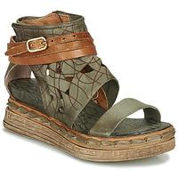 Schoenen Dames Sandalen / Open schoenen Airstep / A.S.98 LAGOS Kaki