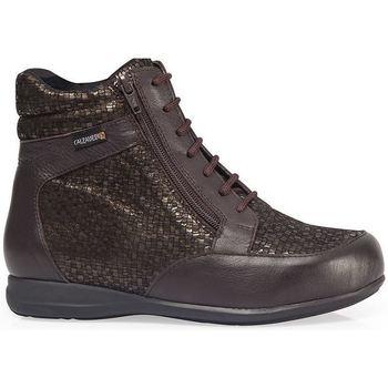 Schoenen Dames Hoge sneakers Calzamedi BOOTS DIABETICS SCALES W BROWN
