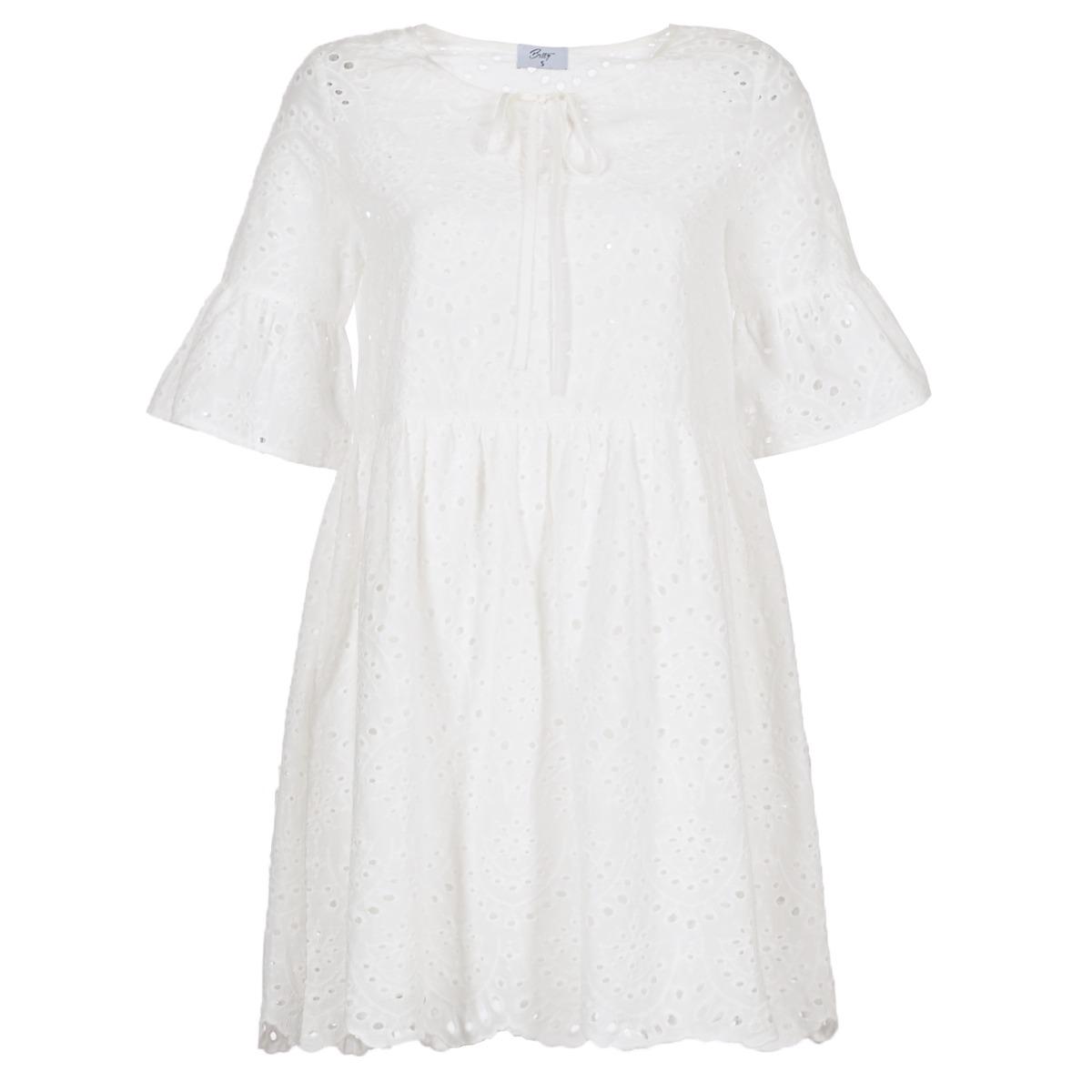 Betty London korte jurk innatu wit