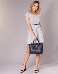 Textiel Dames Korte jurken Moony Mood IKIMI Wit / Marine