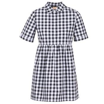 Textiel Dames Korte jurken Moony Mood IKAMAL Wit / Zwart