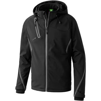 Textiel Heren Jacks / Blazers Erima Softshell Jacke Function Schwarz