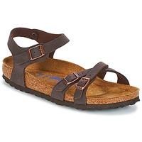 Schoenen Dames Sandalen / Open schoenen Birkenstock KUMBA SFB Bruin